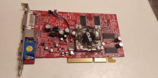 Видеокарта 256MB CLUB3D RADEON 9600