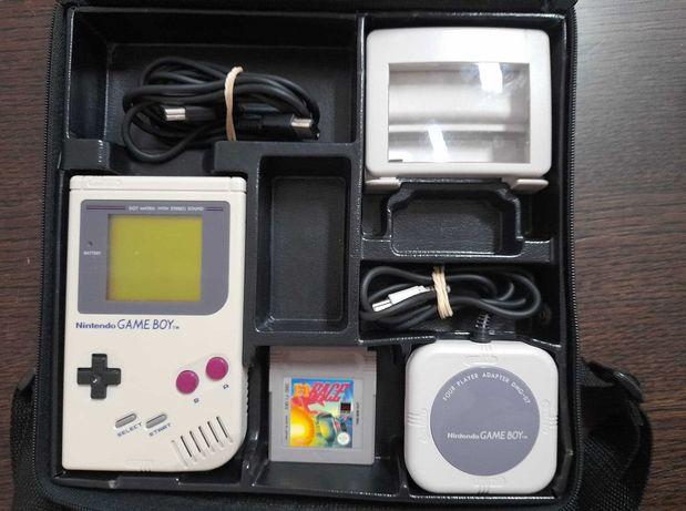 Game Boy DMG Classic + vários extras