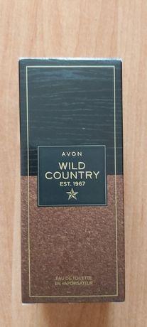Męskie perfumy Wild Country 75 ml avon