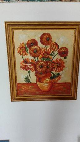 Tela emoldurada Inspiração Van Gogh