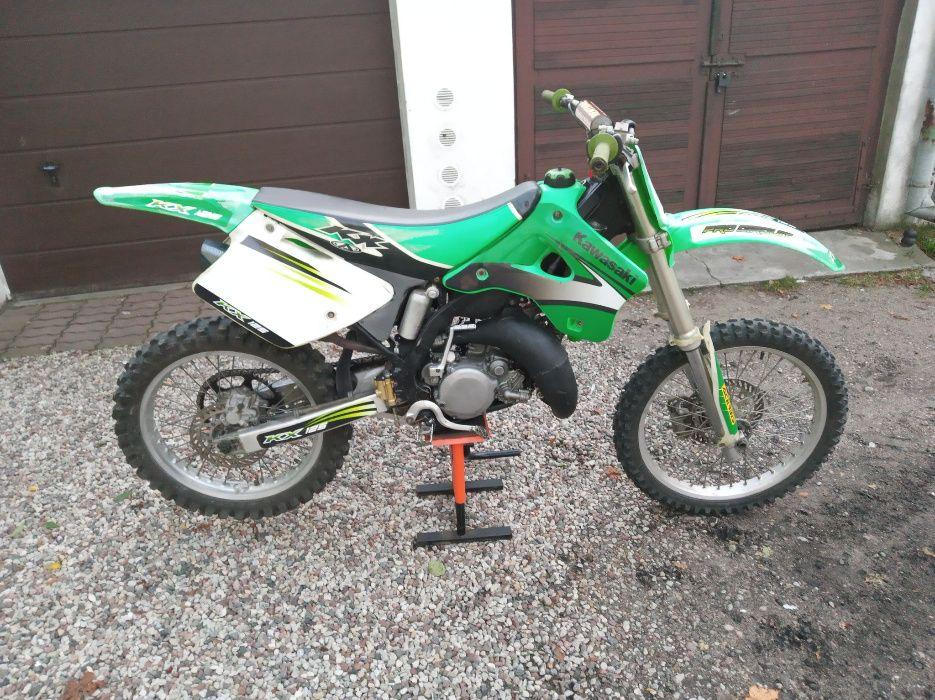 Kawasaki kx125 po świeżym remoncie na kwotę 2k zł Kętrzyn - image 1