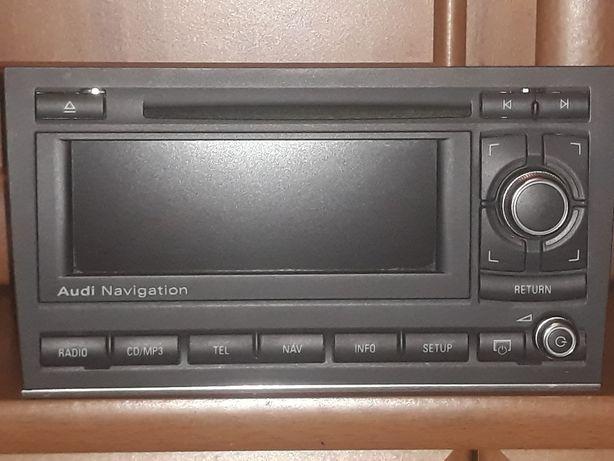 Audi Navigation BNS 5.0 Nawigacja Radio A4 B6/B7 Chrom Polskie Menu