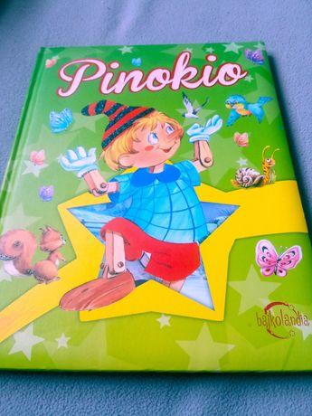 Książka Pinokio ładne wydanie