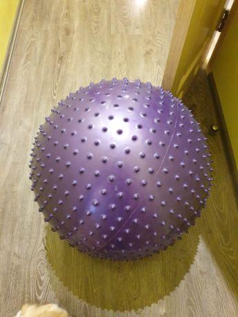 Якісний масажний фібол, м'яч для фітнесу Torneo 65-75 см