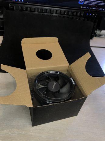 Система Охлаждения AMD на сокет AM4 (снят с Ryzen 1500x)