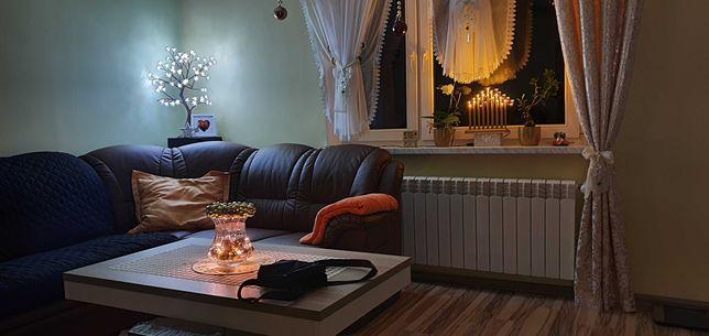 Świetna Wygodna rogówka Idealna do salonu rozkładana z pojemnikiem