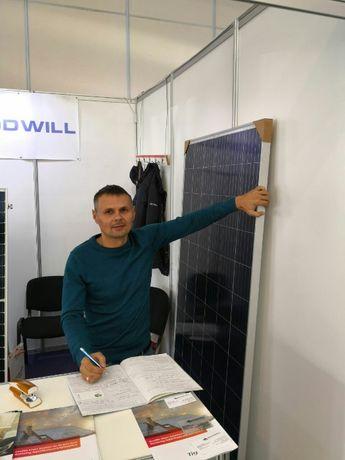 Солнечные батареи, панели, фотомодули Amerosolar AS -6P 30
