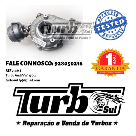 Turbo Audi VW ref. 717858 GT1749VA