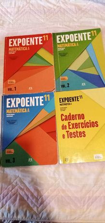Manuais e cadernos de atividades do 5º ano até ao 12º ano