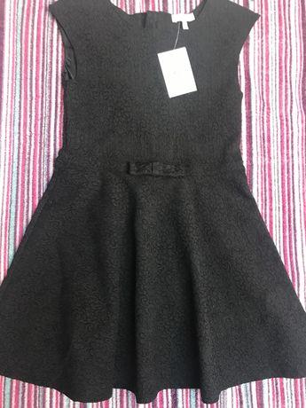 Szkoła czarna sukienka c&a 134 nowa z metka