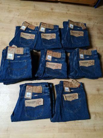 Nowe jeansy męskie coockers pakiet (17szt) po likwidacji sklepu