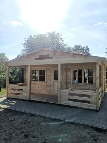 Sprzedam Domek drewniany 600 x 620