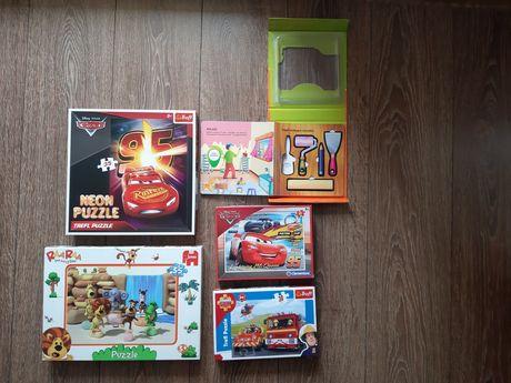 Puzzle, książeczka z narzędziami, zestaw 5 opakowań, wiek  +3
