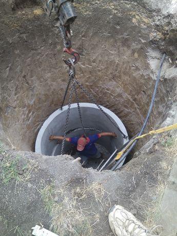 Копка .Сливные ямы под ключ.Вывоз земли,и другие земельные работы.