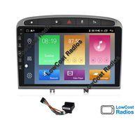 Auto Rádio GPS Android Peugeot 308 e 408 de 2010 a 2016 - Wifi, BT