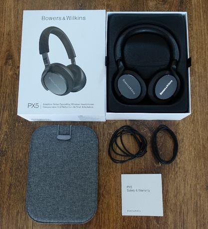 B&W PX5 Bowers&Wilkins słuchawki bezprzewodowe + akcesoria, gwarancja