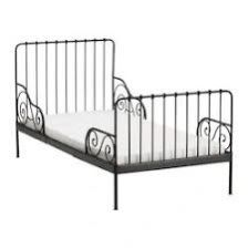 ŁÓŻKO metalowe IKEA MINNEN rosnące, regulowane 130-200 cm