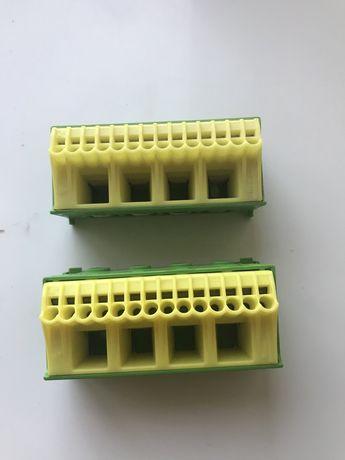 Блок Hager KN18E PE-клемма 4x16мм2+14x4мм2