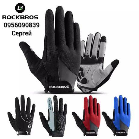 Велосипедные перчатки RockBros вело перчатки велоперчатки с пальцами