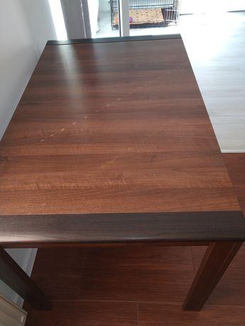 Stół rozkładany dwu kolorowy.