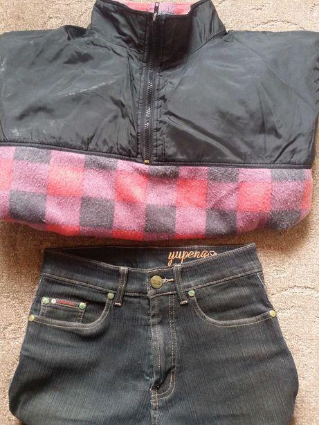 Продаю брендовую купленную в Европе флиску унисекс и джинсы стрейч