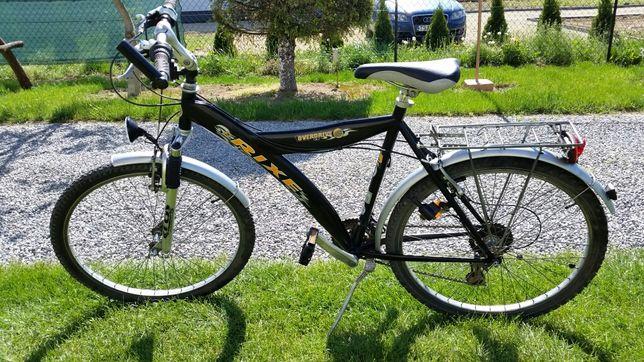 """Sprzedam rower na kołach 26"""" stan bdb."""
