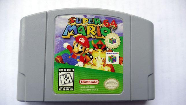 Gra Nintendo 64: Super Mario USA/NTSC