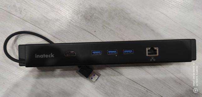 Док-станция Inateck Surface с Gigabit Ethernet, HDMI, USB 3.0