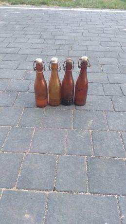 Stare butelki po oranżadzie , piwie