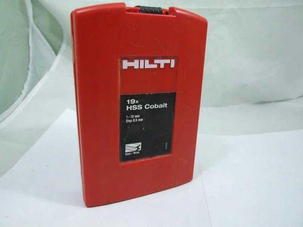 Hilti Zestawy wierteł / kobaltowe 1-10