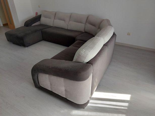 Sofa de Canto com chaise long