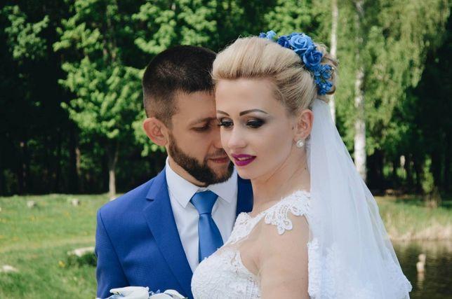 Цветы в волосы для невест. Украшение в волосы. Роза.Прическа на садьбу