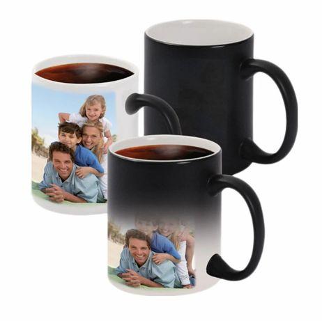Чашка хамелеон. Печать на чашках. Магическая чашка