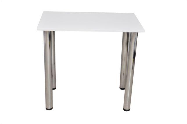 Stół kuchenny Prostokątny biały 50x80x75cm