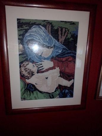 Obraz Matka Boska Karmiąca