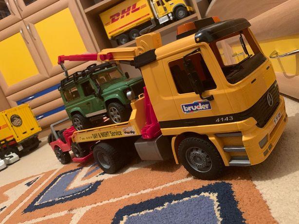 Mercedes Pomoc Drogowa plus Jeep