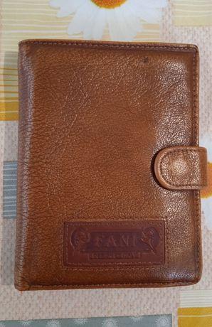 Срочно! Новый кожанный кошелек - портмоне