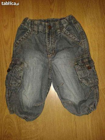 Spodnie jeansowe dla dziecka H&M, rozm. 62cm, 2-4 m-ce