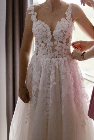 Suknia ślubna 175-180cm S/M