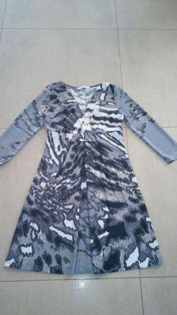 Sukienka TARANKO, rozmiar 38 (M), z długim rękawem