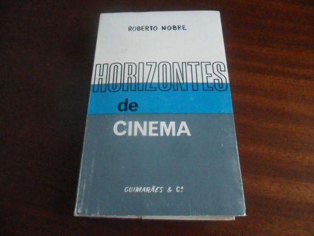 """""""Horizontes de Cinema"""" de Roberto Nobre 2 Edição Actualizada de 1971"""