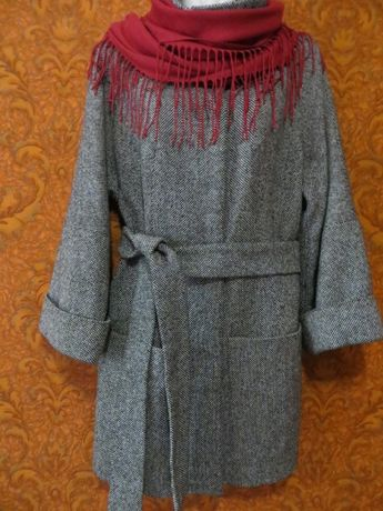 Женское демисезонное пальто, полупальто
