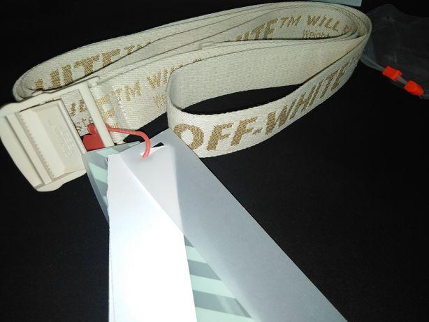 Nowy Pasek Belt Off White