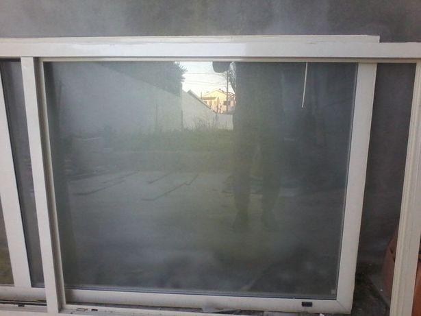 janelas aluminio vidro duplo cor beije