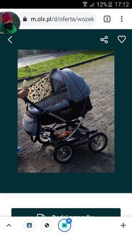 Wózek 3w1 modena
