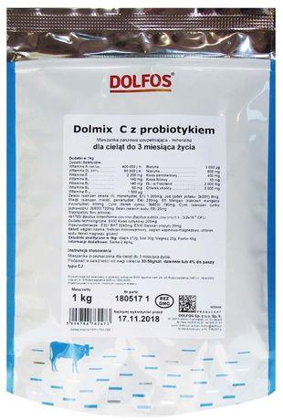 Dolfos Dolmix C 1KG mieszanka z probiotykiem dla cieląt