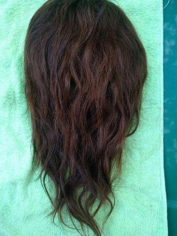 Шиньон натуральные волосы