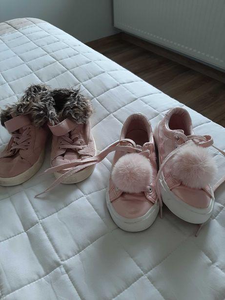 Buty jesienne,dwie pary H&M i Nelli Blur.31,32 ,dl.wkł.wewn 18,5