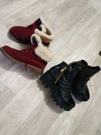 Ботинки зимние р36