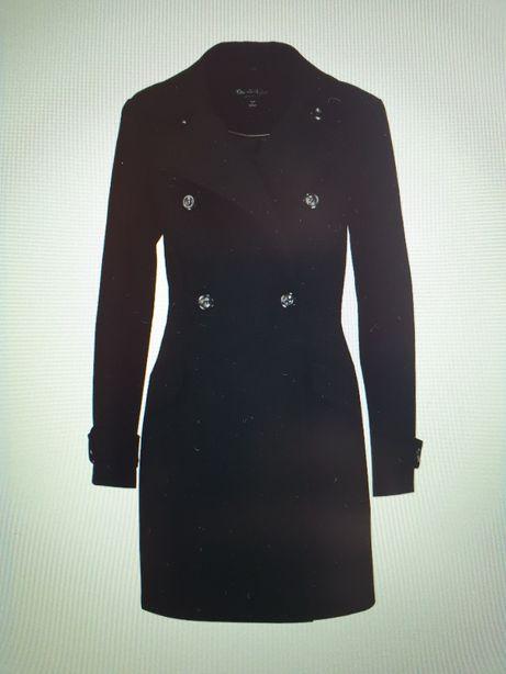 Płaszcz zimowy Miss Selfridge 38 M czarny